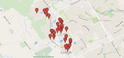 Clair Hills Yard Sale Map