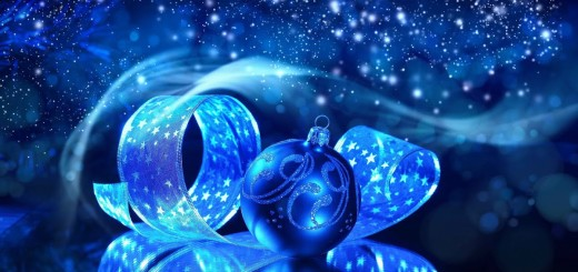 blue-christmas-ball-wallpaper
